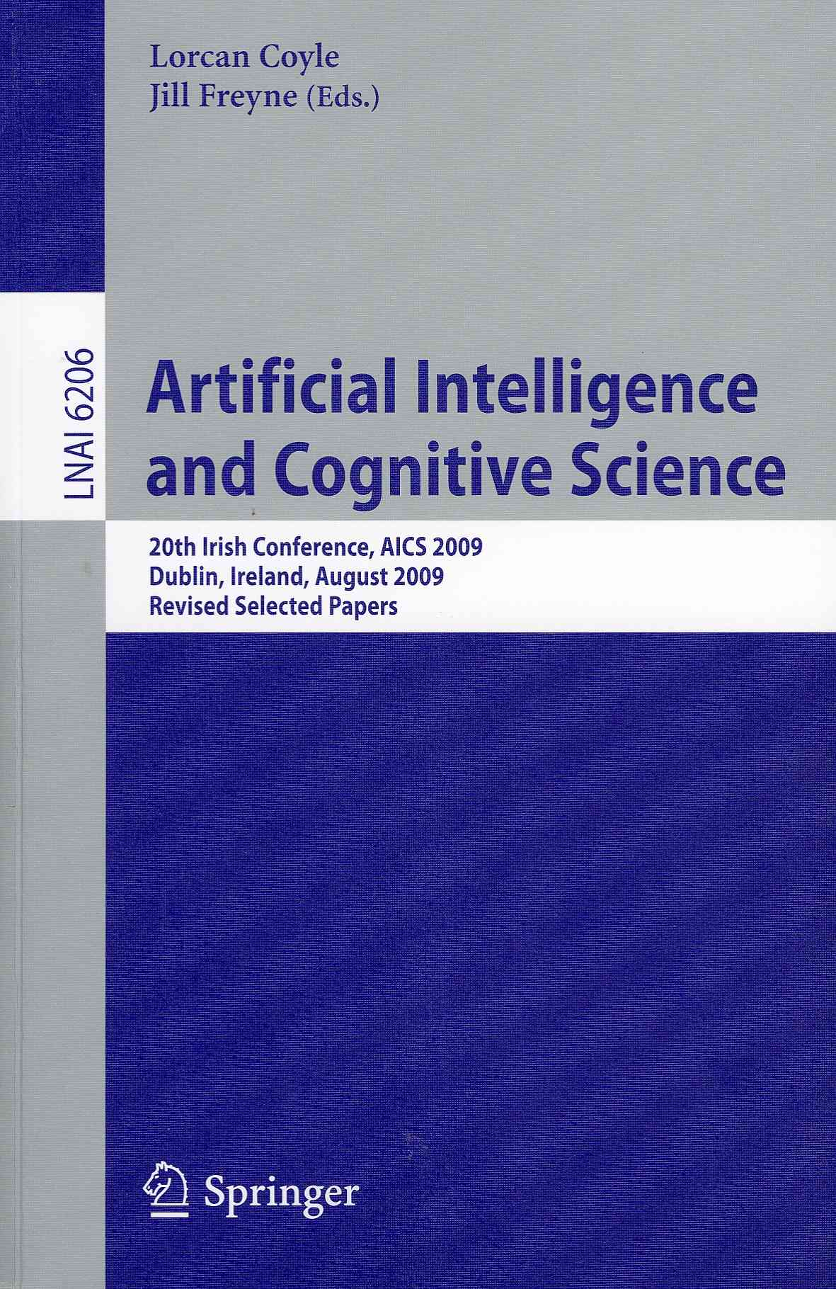 Artificial Intelligence and Cognitive Science By Coyle, Lorcan (EDT)